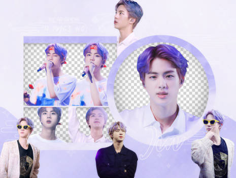 Pack Png 2510 // Jin (BTS) (5th Muster Seoul)