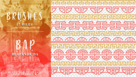 Brushes 096 // Chinese Dividers