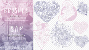 Brushes 099 // Flowers