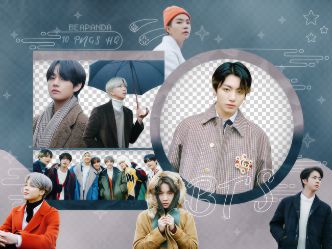 Pack Png 2606 Bts Winter Package 2020 By Beapanda On Deviantart