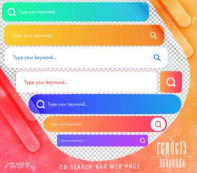 Renders 448 // Search Bar Web Pngs
