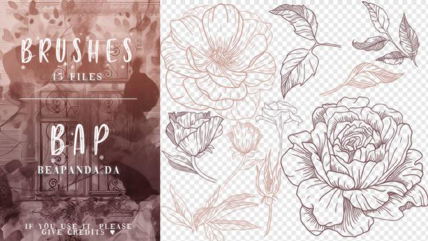 Brushes 109 // Flowers
