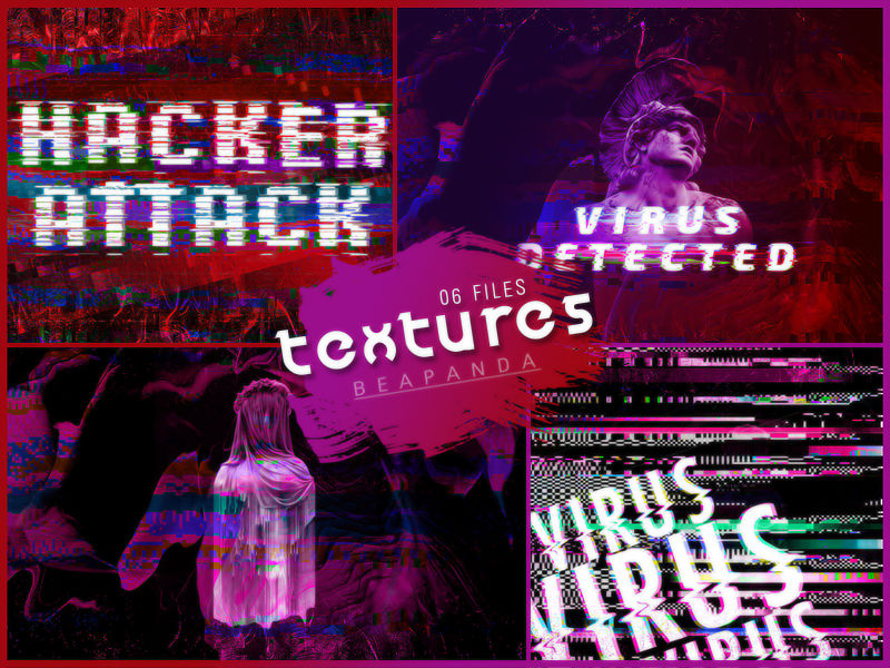 Textures 157 // Glitch