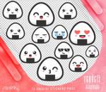 Renders 478 // Onigiri Stickers Pngs