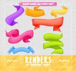 Renders 498 // Ribbons Pngs