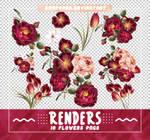 Renders 517 // Flowers Pngs