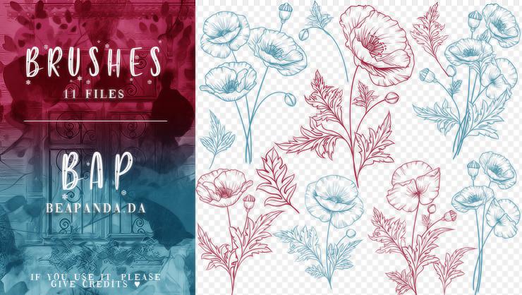 Brushes 132 // Flowers