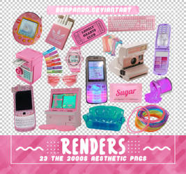 Renders 534 // The 2000s Aesthetic Pngs