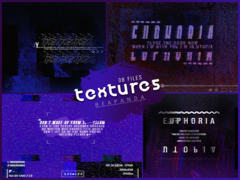 Textures 169 // Euphoria Glitch