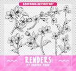 Renders 548 // Sakura Pngs