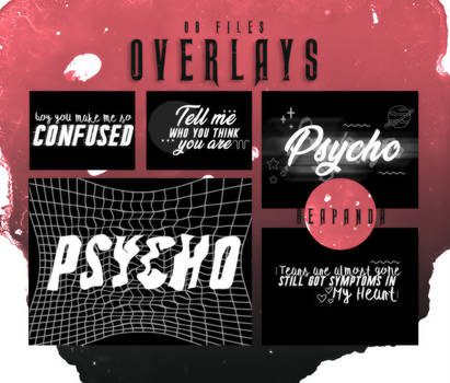 OVERLAYS   Psycho Text