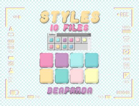 Styles 028 // Pastel Life