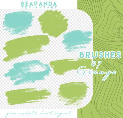 Brushes 144 // Grunge