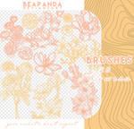 Brushes 145 // Flowers