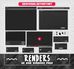 Renders 571 // Web Windows Pngs
