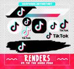 Renders 573 // Tik Tok Icons Pngs