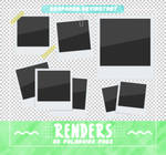 RENDERS // Polaroid Pngs