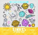 RENDERS // Space Pngs