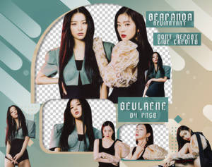 PACK PNG // Irene X Seulgi (RED VELVET) (MONSTER)
