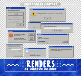 RENDERS // Windows PC Pngs