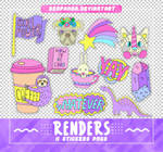 RENDERS // Stickers Pngs
