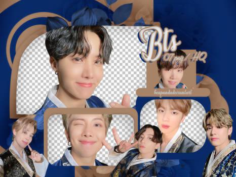 PACK PNG // BTS (Happy Chuseok 2020) (Selca)