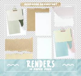 RENDERS   Torn Papers Pngs