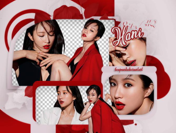 PACK PNG | Hani (EXID) (GRAZIA Korea 2019)