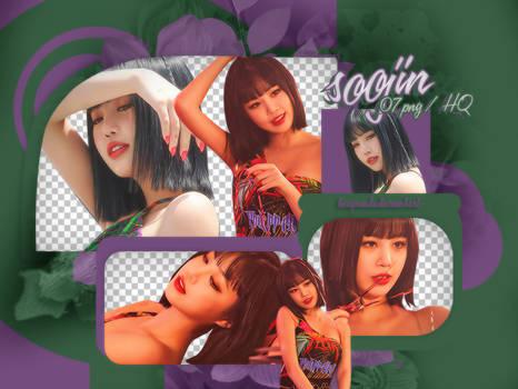 PACK PNG | Soojin (G)I-DLE (DUMDi DUMDi Naver)