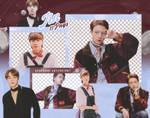 PACK PNG   Jin (BTS) (SEASONS GREETINGS 2021)