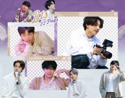PACK PNG | BTS (Life Goes On - Official MV Sketch)