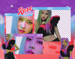 PACK PNG   Rose (BLACKPINK) (HOW YOU LIKE THAT)