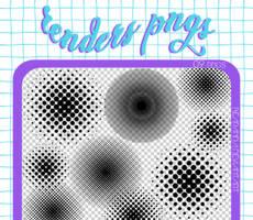 RENDERS | Circles Dots Pngs
