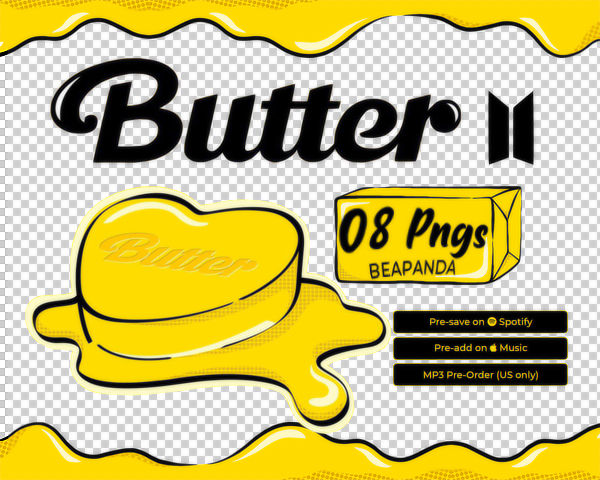RENDERS | BUTTER (BTS SINGLE COMING 21 MAY) PNGS