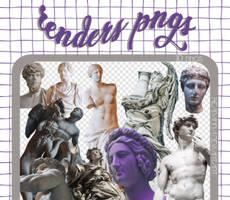 RENDERS | Statues Pngs