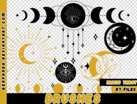 BRUSHES | MAGIC TAROT