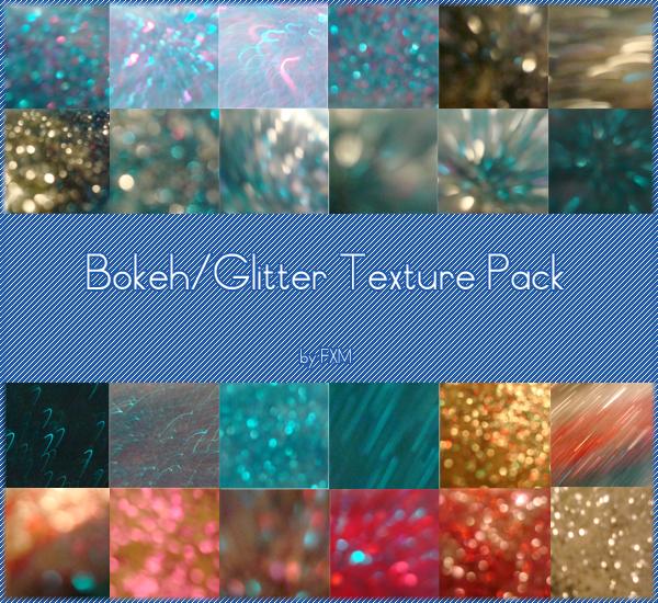 Glitter Bokeh Texture Pack by xfaggotx-xmaggotx