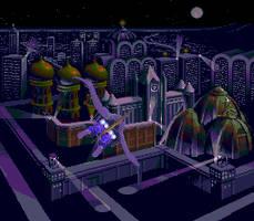 NEC Strider Level 1 Prologue Scene by Apoklepz