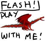Poseable Flash Dragon 1