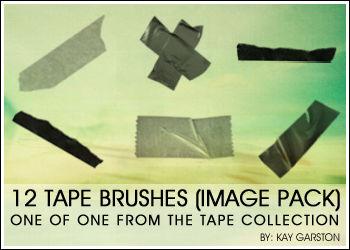 TAPE BRUSH IMAGE PACK