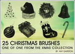 CHRISTMAS BRUSH COLLECTION