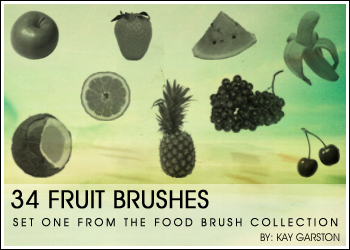 FOOD BRUSH COLLECTION - Fruit by Special-K-001