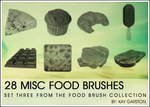 FOOD BRUSH COLLECTION - Misc
