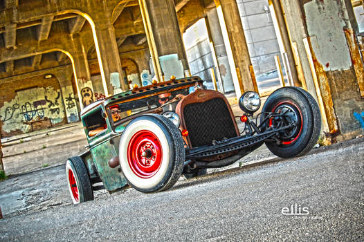 Rat Rod Ford HDR