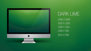 Dark Lime Wallpaper by ZhioN360