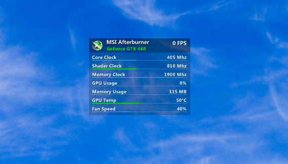 MSI Afterburner for Gnometer by dcrutgers