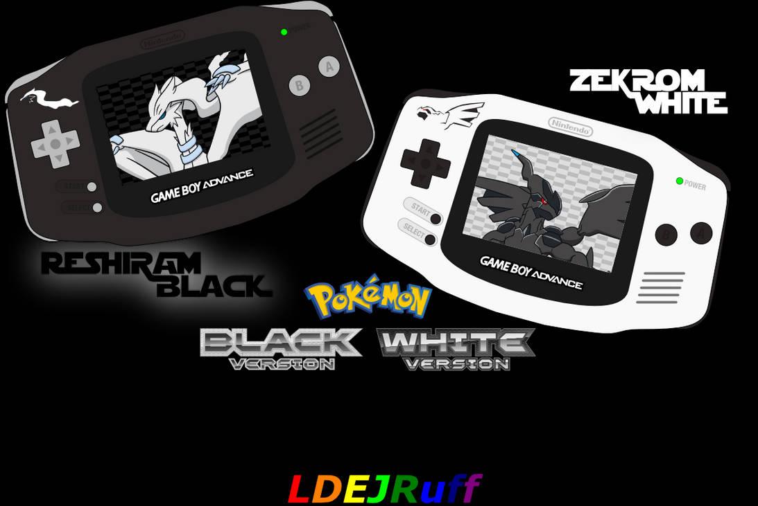 pokemon black and white gba download zip