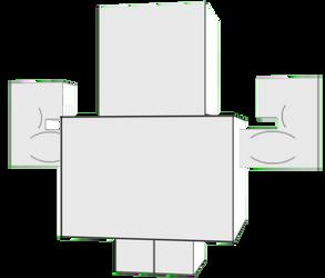 Custom bodybuilder Cubeecraft doll by DecaTilde