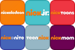 Nick logos (app style) by DecaTilde