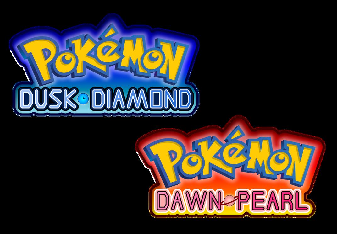 Pokemon Diamond Logo Transparent